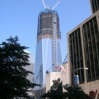 One World Trade Center (= Freedom Tower) am Ground Zero