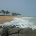 Strandlandschaft in Togo