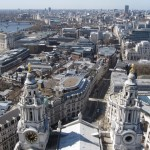 London - Blick vom Dach der St. Paul's Cathedral
