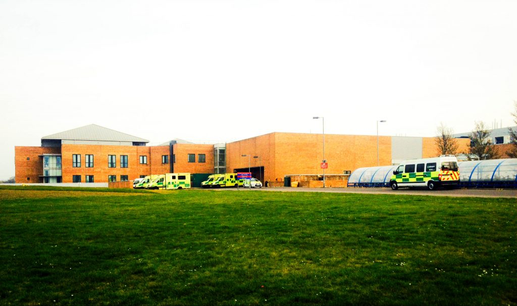 Norfolk and Norwich University Hospital - Grafschaft Norwich