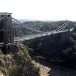 Beeindruckende Architektur - die Suspension Bridge in Bristol