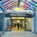 Willkommen am Great Ormond Street Hospital for Children in London