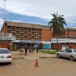Das University Teaching Hospital der University of Zambia in Lusaka