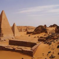 You know ,Sudan has more Pyramids than Egypt and also two Niles ,Egypt only one
