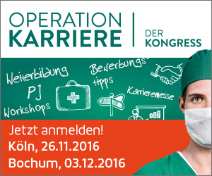Kongress Operation Karriere - Nachwuchskongresse Operation Karriere 2016 in Köln und Bochum