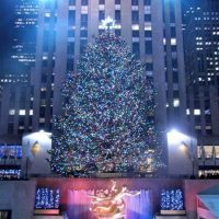 Weihnachtsbaum Rockefeller-Center New York