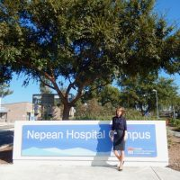 Auf dem Nepean Hospital Campus der Sydney Medical School in Kingswood-Penrith
