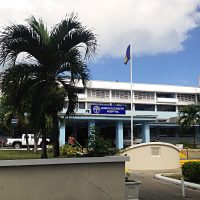 Das Queen Elizabeth Hospital in Bridgetown auf Barbados