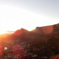 Her Majesty - the Table Mountain in Cape Town