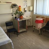 Ein Untersuchungszimmer in der Ambulanz am Red Cross War Memorial Children's Hospital in Kapstadt