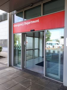 Das Emergency Department am St. Vincent's University Hospital in Dublin
