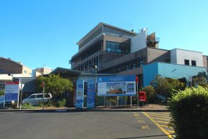 Das Nepean Hospital in Kingswood, Sydney, Australien