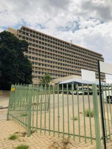 Das Windhoek Central Hospital in Namibia