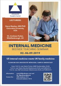 IPOKRaTES Students Munich - Internal Medicine Bedside Teaching Seminar - München September 2019